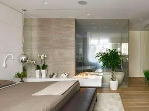 Dormitorio con cuarto de baño integrado - Toolman Desde Colgar Un ...