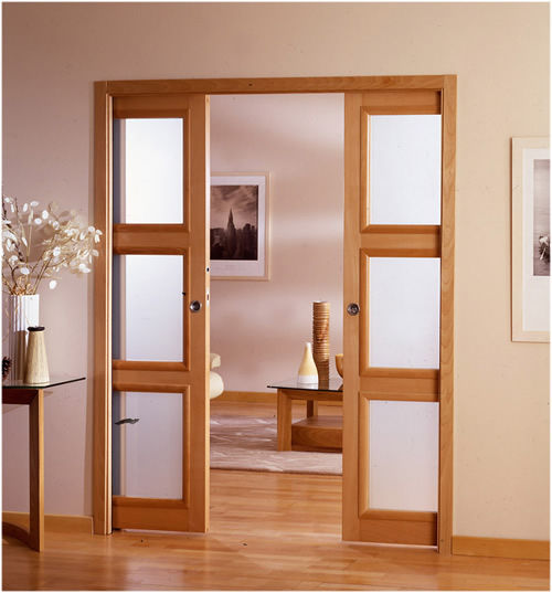 Puertas6 toolman desde colgar un cuadro for Modelos de mamparas de madera para sala