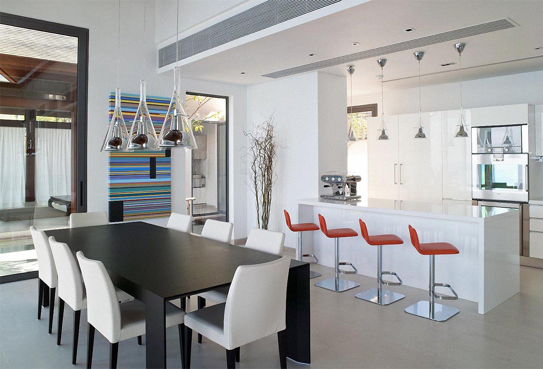 La moda de las cocinas abiertas - Cocinas con parquet ...