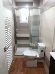 reforma de un cuarto de baño en Aluche
