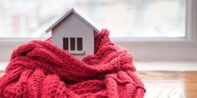 Mantén tu casa caliente!